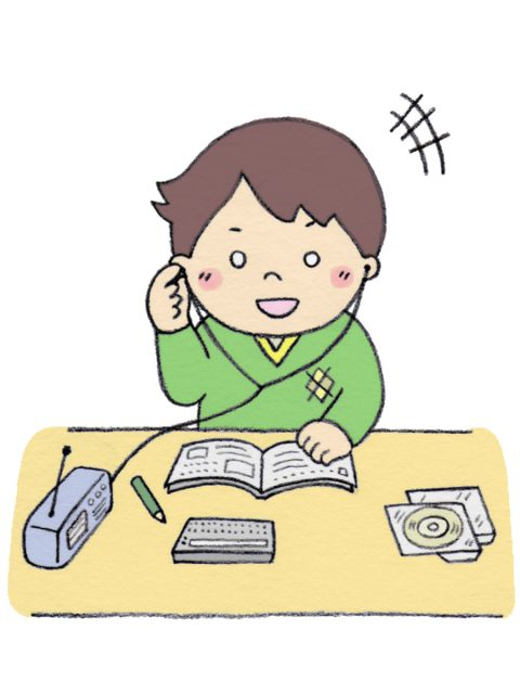 独学で英会話を勉強中