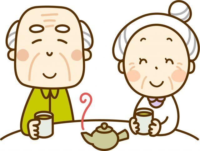 日本茶でくつろぐ