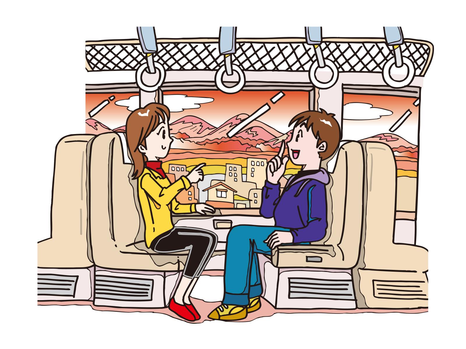 次は新横浜!?英語が苦手な車掌さんに変わって、新幹線で外国人観光客に通訳のお手伝い