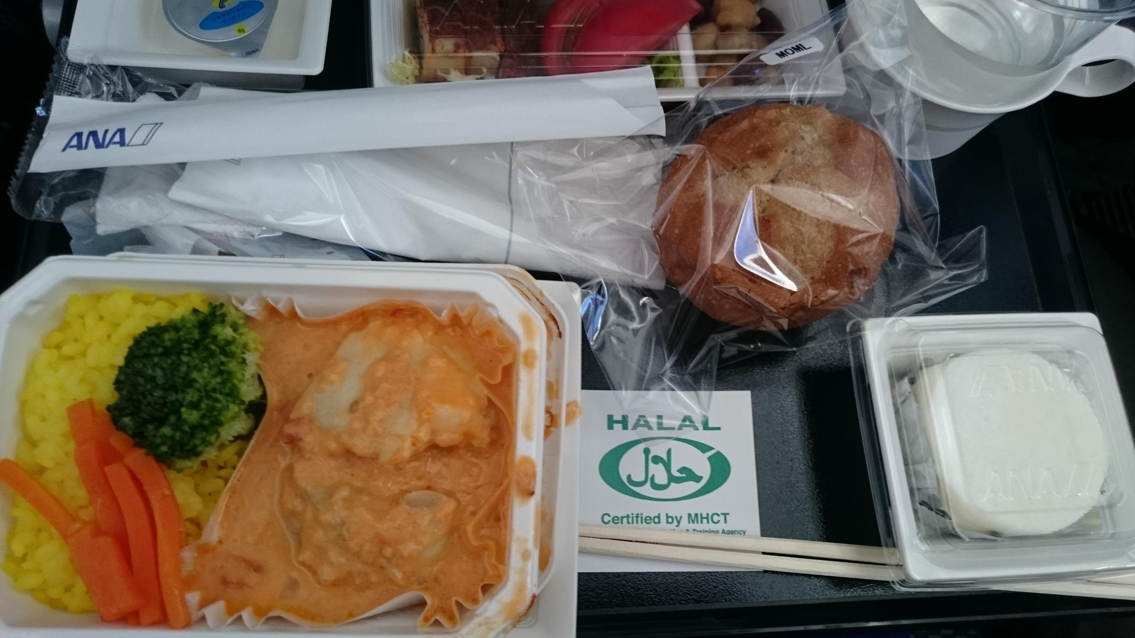 ANAの機内食変更オプションが意外と楽しい