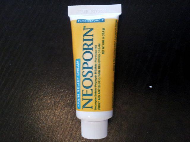 やけど薬ネオスポリン