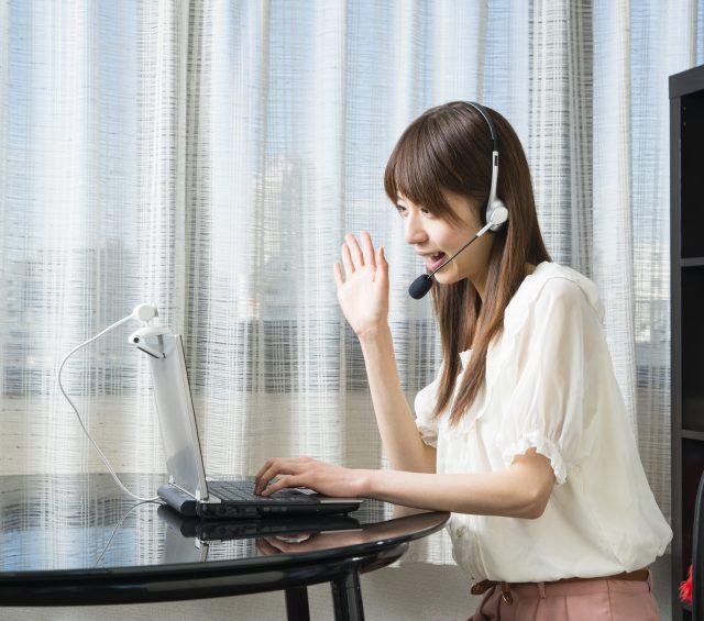 オンライン英会話で勉強中