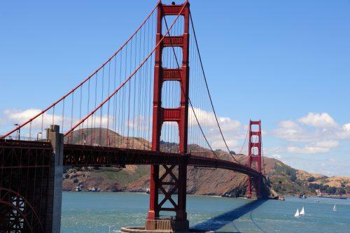 ゴールデンゲートブリッジ@サンプランシスコ