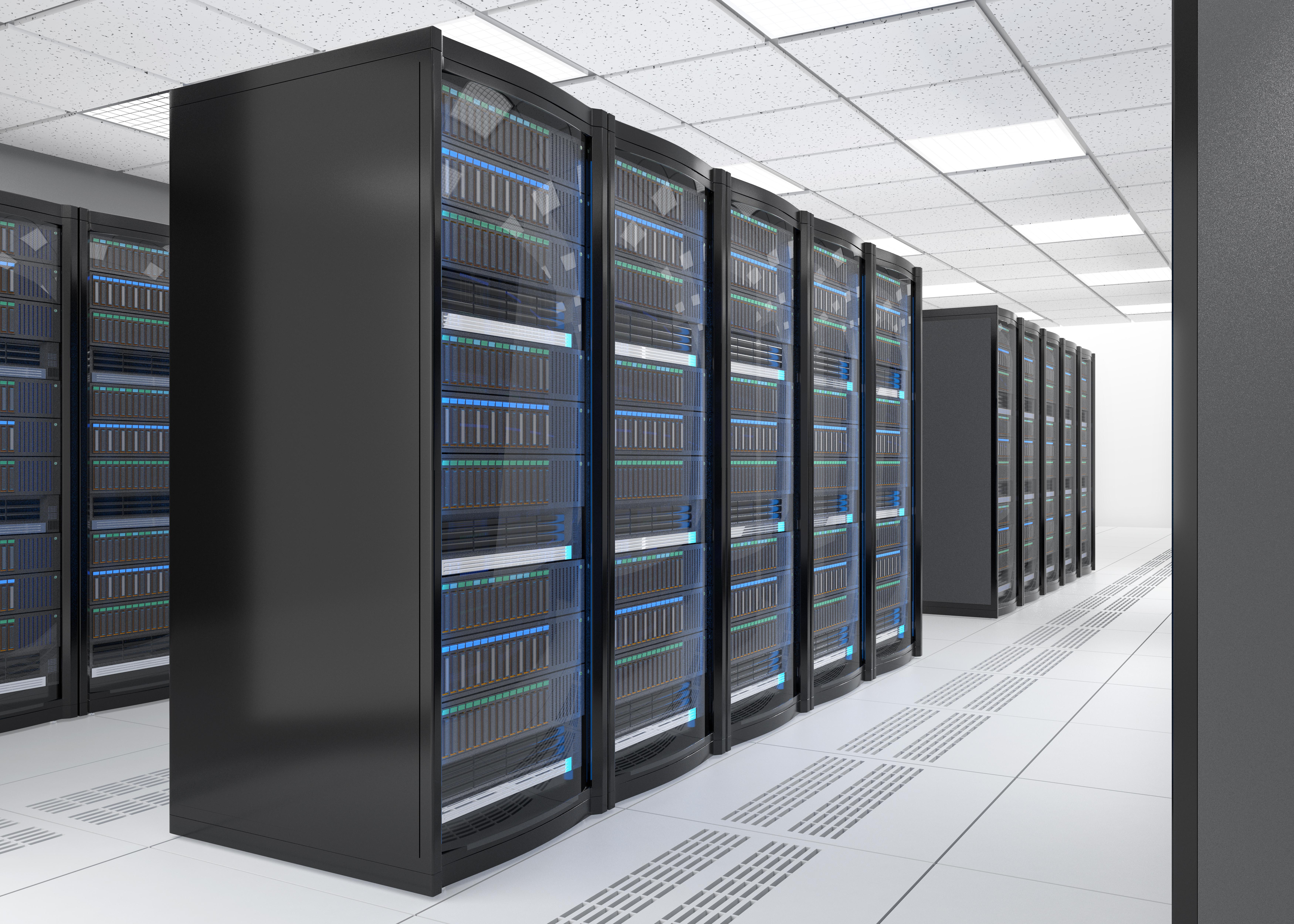 コンピューターシステム(サーバー室)