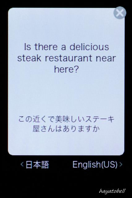 ポケトーク翻訳4